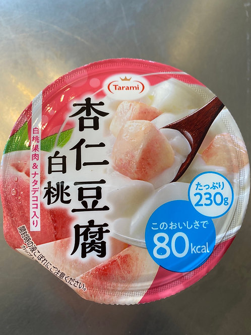 Tarami White Peach Flav Annin Tofu Jelly 杏仁白桃豆腐