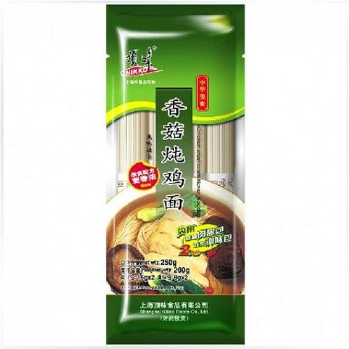 Nikko Chicken & Mushroom Ramen香菇炖鸡面