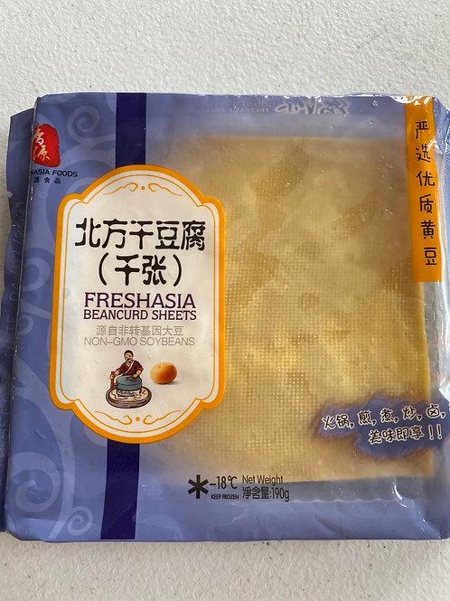 Freshasia Beancurd Sheet 北方千张干豆腐