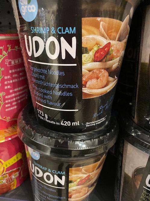 Shrimp & Clam U don