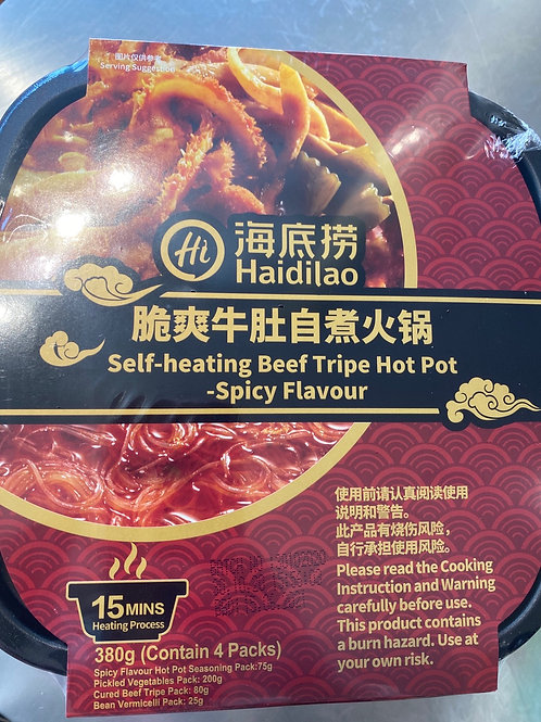 HDL Self heating Beef Tripe Hot Pot Spicy Flav