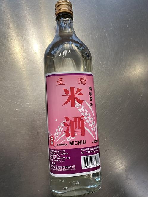Taiwan Michiu (Cooking Rice Wine)台灣米酒750ml