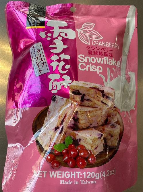 RF Cranberry Snowflake Crisp 皇族蔓越莓雪花酥