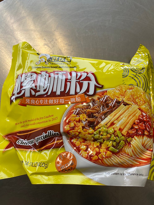 Hao Huan Luo Luo Shi Rice Noodle 好欢螺螺狮粉原味 400g