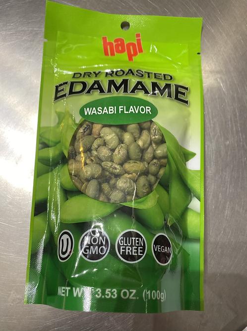 Hapi Dry Roasted Edamame Wasabi Flavor