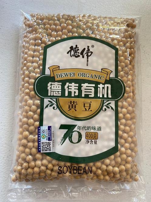 Dewei Organic Soy Bean 德伟有机黄豆