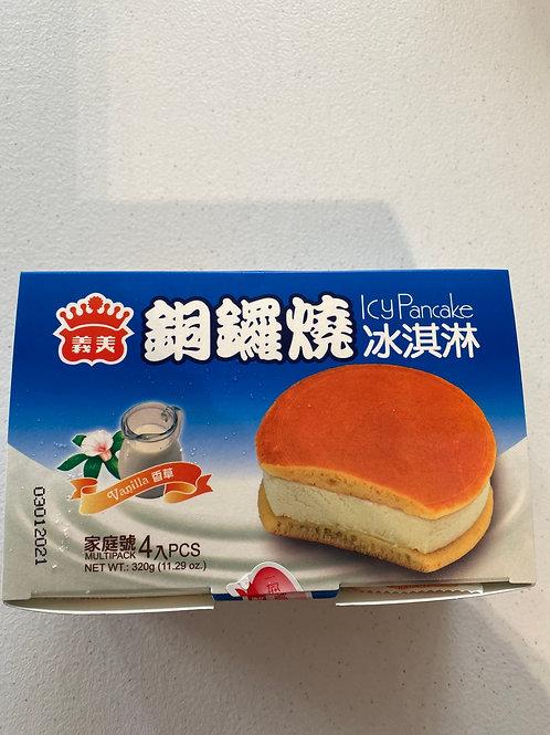 IM Vanilla Icy Pancake 義美香草銅鑼燒冰淇淋4pcs