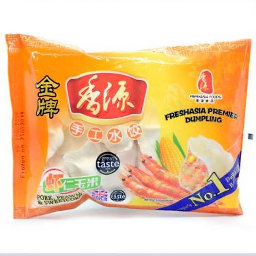 Freshaisa Pork Prawn & Sweetcorn玉米虾仁三鲜水饺