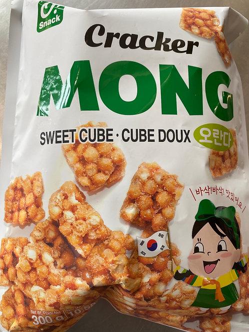 Korean O!Snack Sweet Cube Cracker 300g
