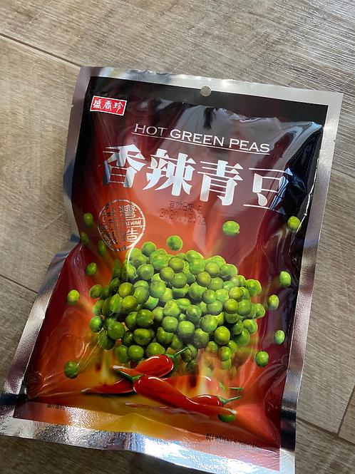 Hot Green Peas