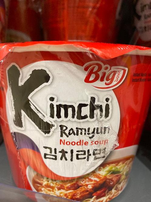 Nongshim Big Kimchi Ramen Noodle Soup