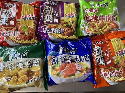KFS Instant Noodles 6pks 康师傅方便面组合