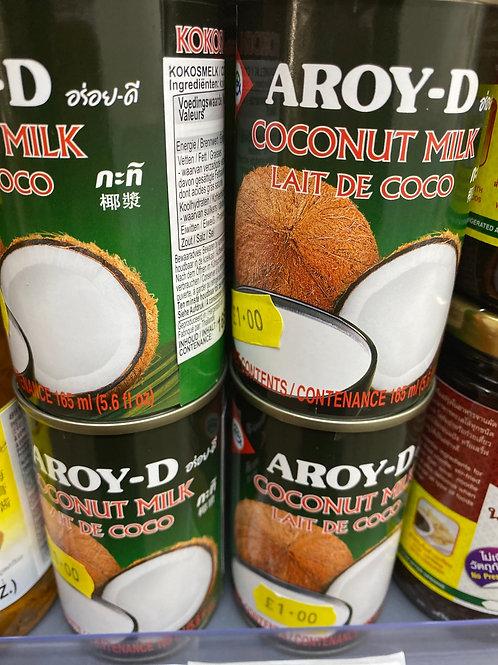 Aroy-D Coconut Milk 165g