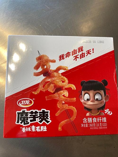 WL Konjac Strips Spicy Flav 卫龙魔芋爽香辣味