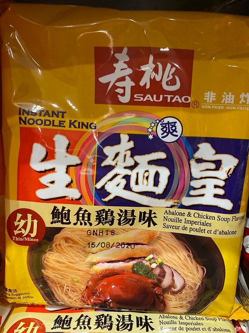 ST Instant Noodle King Abalone Chicken Flav