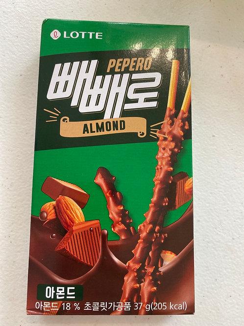Lotte Pepero Almond
