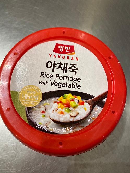 Yangban Rice Porridge With Vegetable 蔬菜粥