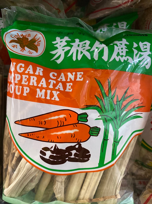 Golden Lily Sugar Can Imperatriz Soup Mix 茅根竹蔗