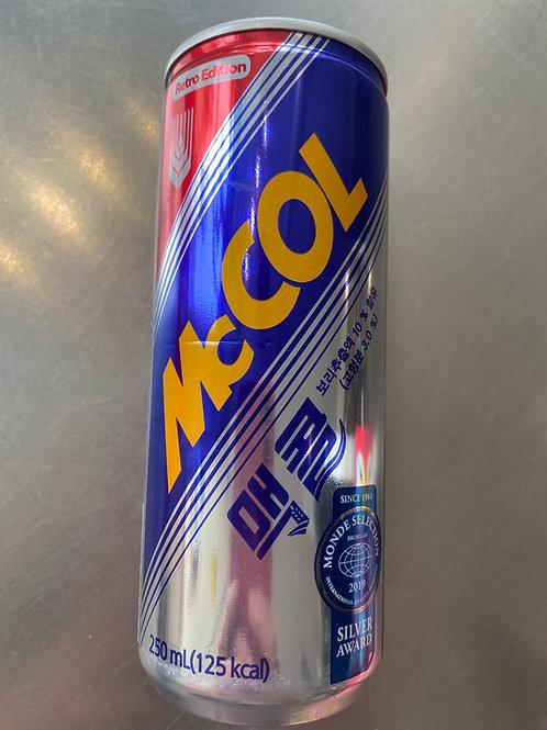 McCool (Korean Coke)一和麦香碳酸饮料