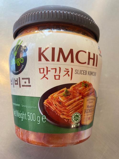 Bibigo Sliced Kimchi In Jar  500g