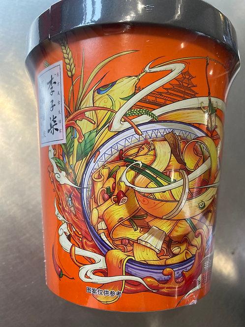 LIZIQI Instant Chilli Noodle 李子柒红油面皮 135g