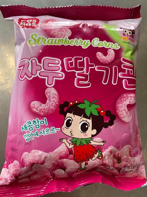 Cos Mos Strawberry Corns 60g
