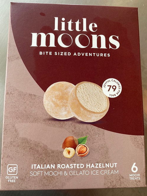 Little Moon Mochi Ice cream Hazelnut 6x32g