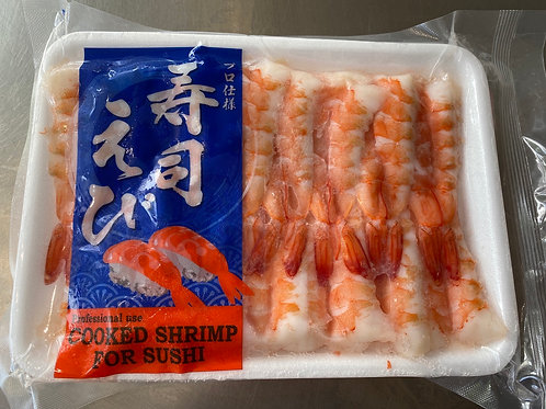 J-Basket Cooked Ebi(Shrimp)For Sushi 255g (30pcs)