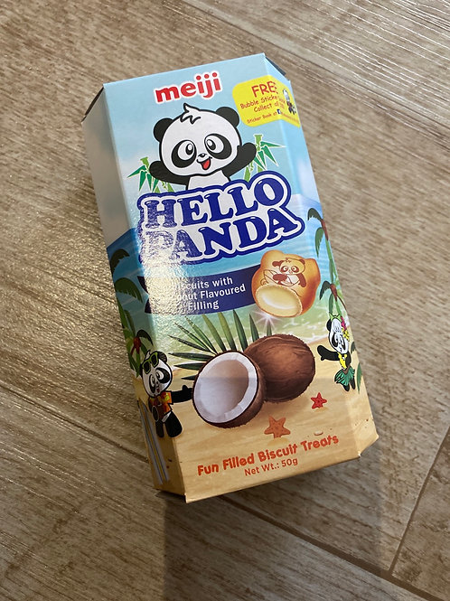Hello Panda Coconuts Biscuits