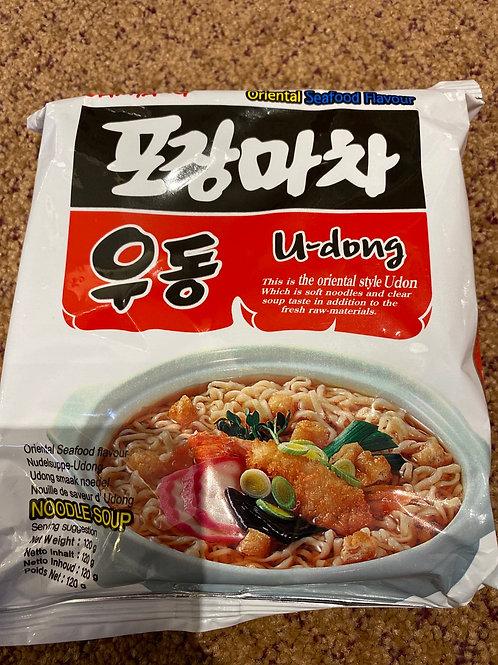 Samyang Instant Noodle U-dong Seafood Flavour