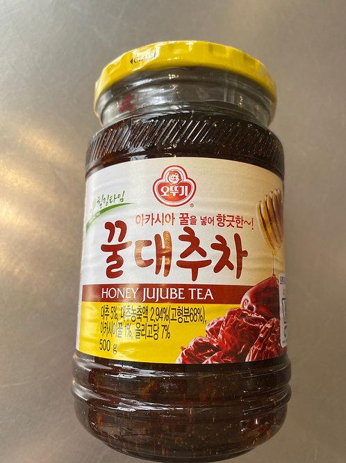 Korean  Honey Jujube Tea 500g 韩国大红枣蜂蜜茶
