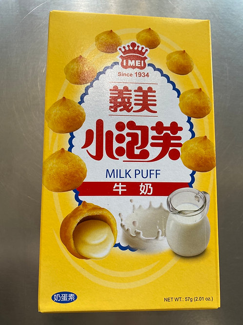 IMEI Milk Puff 义美牛奶小泡芙57g