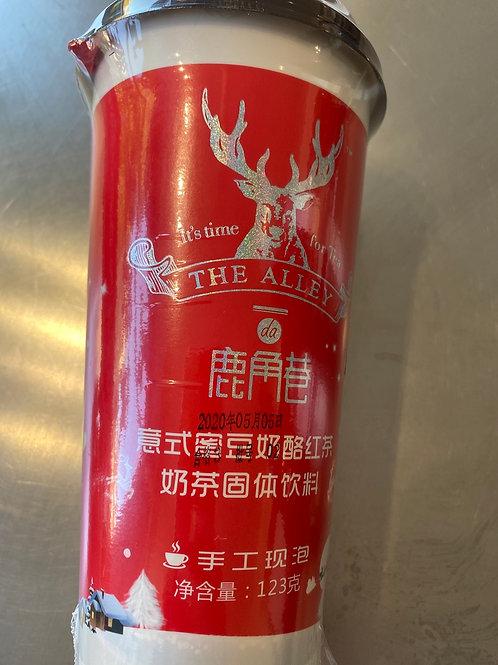 The Alley Tea Drink Red Bean 鹿角巷意式奶酪红豆