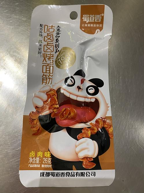 SDX Gluten Strips Stewed Flav卤咕咕烤面筋卤肉味26g