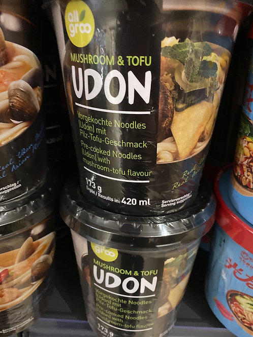 Mushroom & Tofu Udon