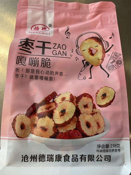 HR Dried Red Date Jujube Slice Snack 枣干