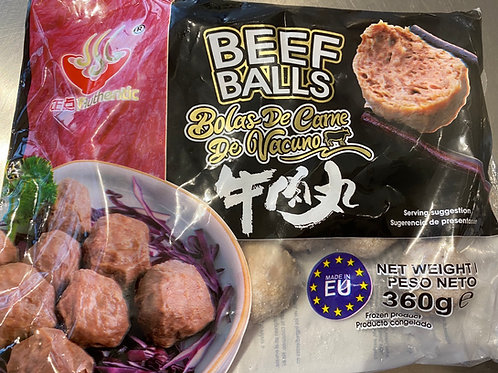 Authentic Beef Ball 正点牛肉丸 360g