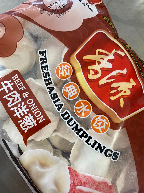 Freshasia Dumplings Beef & Onion