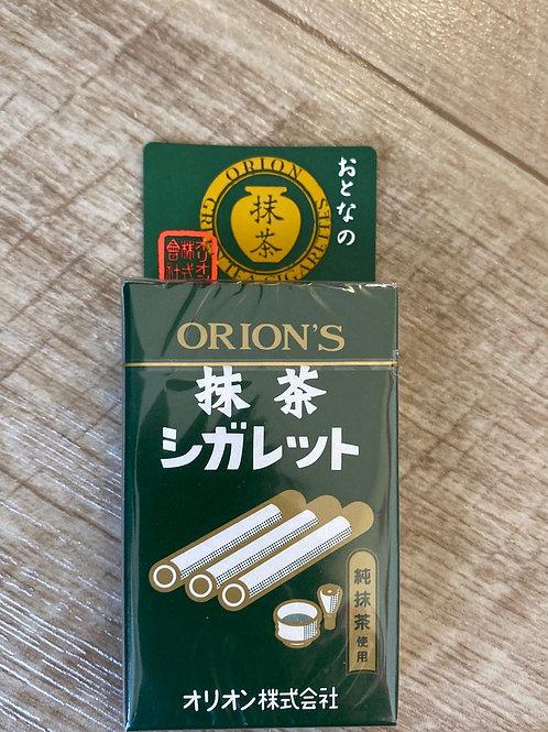 Matcha Green Tea Candy Sticks (Matcha Cigarette)