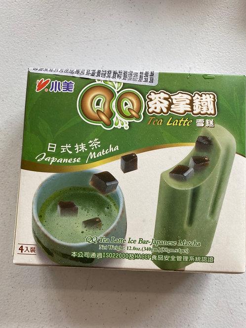 IM QQ Tea Latte Ice Bar -Japanese Matcha 日本抹茶拿鐵冰棒