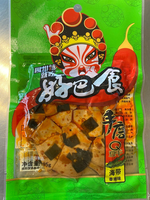 HJ Dried Beancurd Spicy Seaweed 徽记好巴食香辣海带