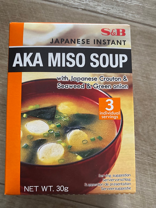 S&B Japanese Instant Aka Miso Soup