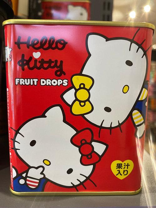 Sakuma Hello Kitty Fruit Drops In a Tin 75g