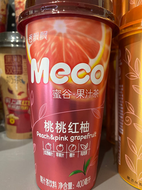 Meco Peach & Pink Grapefruit Tea 桃桃红柚