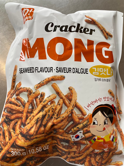 Korean O!Snack Seaweed Flav Cracker 300g