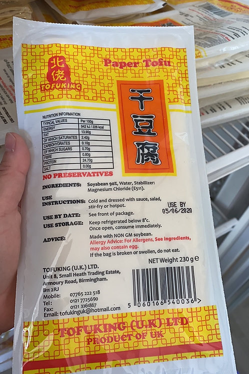 Tofu King Paper Tofu 北佬干豆腐