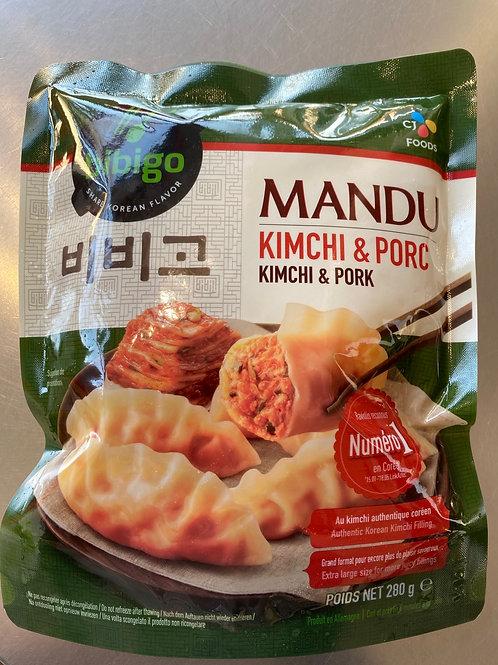 Bibigo Mandu Kimchi & Pork Dumpling 280g