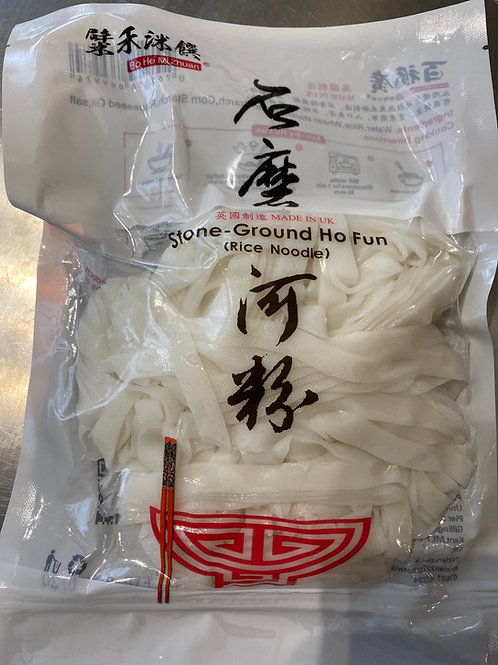 Fresh Ground Ho Fun 石磨河粉(Gluten Free)400g