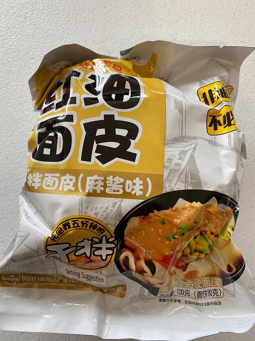 Sichuan Broad Noodle Sesame Paste Flav. 120g