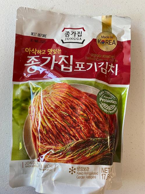Chongga Poggi Kimchi (Whole Cabbage Kimchi)500g